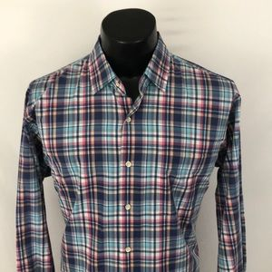 Peter Millar Seaside collection Button Up Shirt L